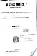 El siglo médico  : revista clínica de Madrid , Bände 5-6