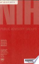 NIH Public Advisory Groups