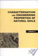 Characterisation and Engineering Properties of Natural Soils Book