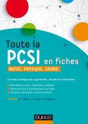 Toute la PCSI en fiches - 2ed