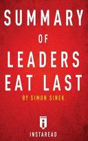 Leaders Eat Last Summary Book