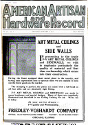 The American Artisan and Hardware Record
