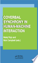 Coverbal Synchrony in Human Machine Interaction Book