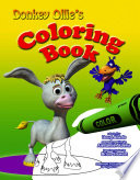 Donkey Ollie Coloring Book