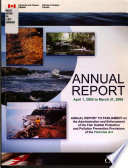 Annual Report, April 1, 2005 to March 31, 2006