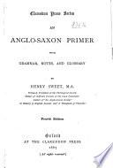An Anglo Saxon Primer