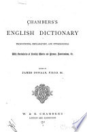 Chambers's English Dictionary