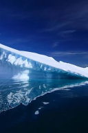 An Iceberg and It s Reflection in Antarctica