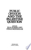 Public Opinion and the Palestine Question