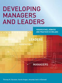Developing Managers and Leaders