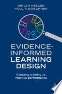 Evidence Informed Learning Design Book