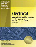 Electrical Discipline specific Review for the FE EIT Exam Book