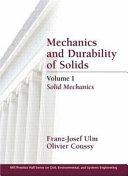 Mechanics And Durability Of Solids Solid Mechanics Book PDF