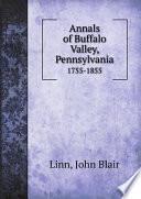 Annals of Buffalo Valley  Pennsylvania