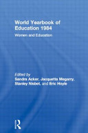 World Yearbook Of Education 1984