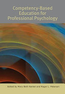 Competency based Education for Professional Psychology
