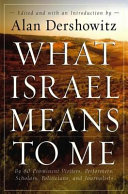 What Israel Means to Me: By 80 Prominent Writers, ...