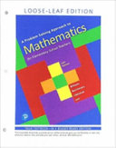 A Problem Solving Approach to Mathematics for Elementary School Teachers  Loose Leaf Edition
