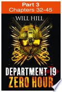 Zero Hour Part 3 Of 4 Department 19 Book 4