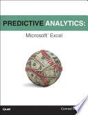 Predictive Analytics  : Microsoft Excel