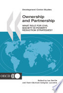 Development Centre Studies Ownership And Partnership What Role For Civil Society In Poverty Reduction Strategies