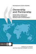 Development Centre Studies Ownership and Partnership What Role for Civil Society in Poverty Reduction Strategies?