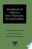 Handbook of Adhesives Raw Materials