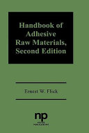 Handbook of Adhesives Raw Materials