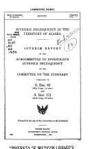 Juvenile Delinquency in the Territory of Alaska