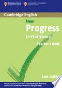 New Progress to Proficiency Teacher's Book