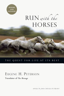 Run with the Horses Book