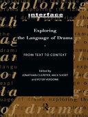 Exploring the Language of Drama