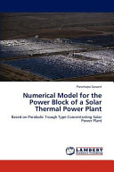 Numerical Model for the Power Block of a Solar Thermal Power Plant Book