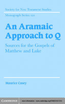 An Aramaic Approach to Q