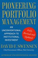 Cover of Pioneering Portfolio Management