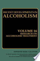 Research On Alcoholism Treatment