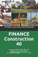 FINANCE Construction 40
