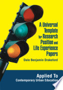 A Universal Template for Research Position and Life Experience Papers