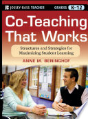 Co Teaching That Works Book