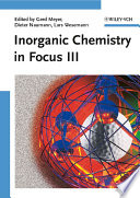 Inorganic Chemistry in Focus III Book