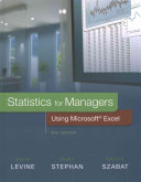 Statistics for Managers Using Microsoft Excel with Phstat