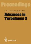 Advances in Turbulence 3 Pdf/ePub eBook