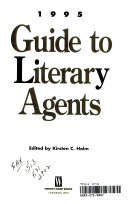 1995 Guide to Literary Agents