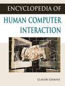 Encyclopedia of Human Computer Interaction Book