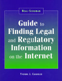 Neal Schuman Guide To Finding Legal And Regulatory Information On The Internet
