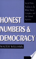 Read Online Honest Numbers and Democracy For Free