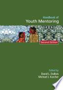 Handbook of Youth Mentoring