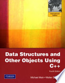 Data Structures and Other Objects Using C+