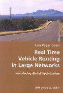 Real Time Vehicle Routing in Large Networks