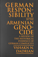 German Responsibility in the Armenian Genocide Book PDF
